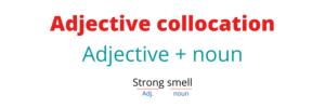 Adjective collocation