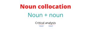 Noun collocation