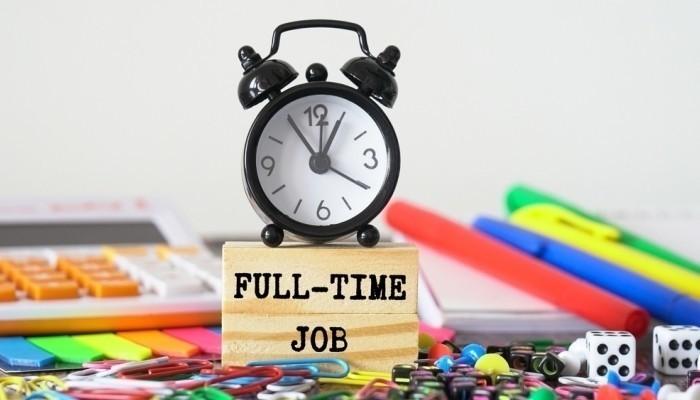 full-time work