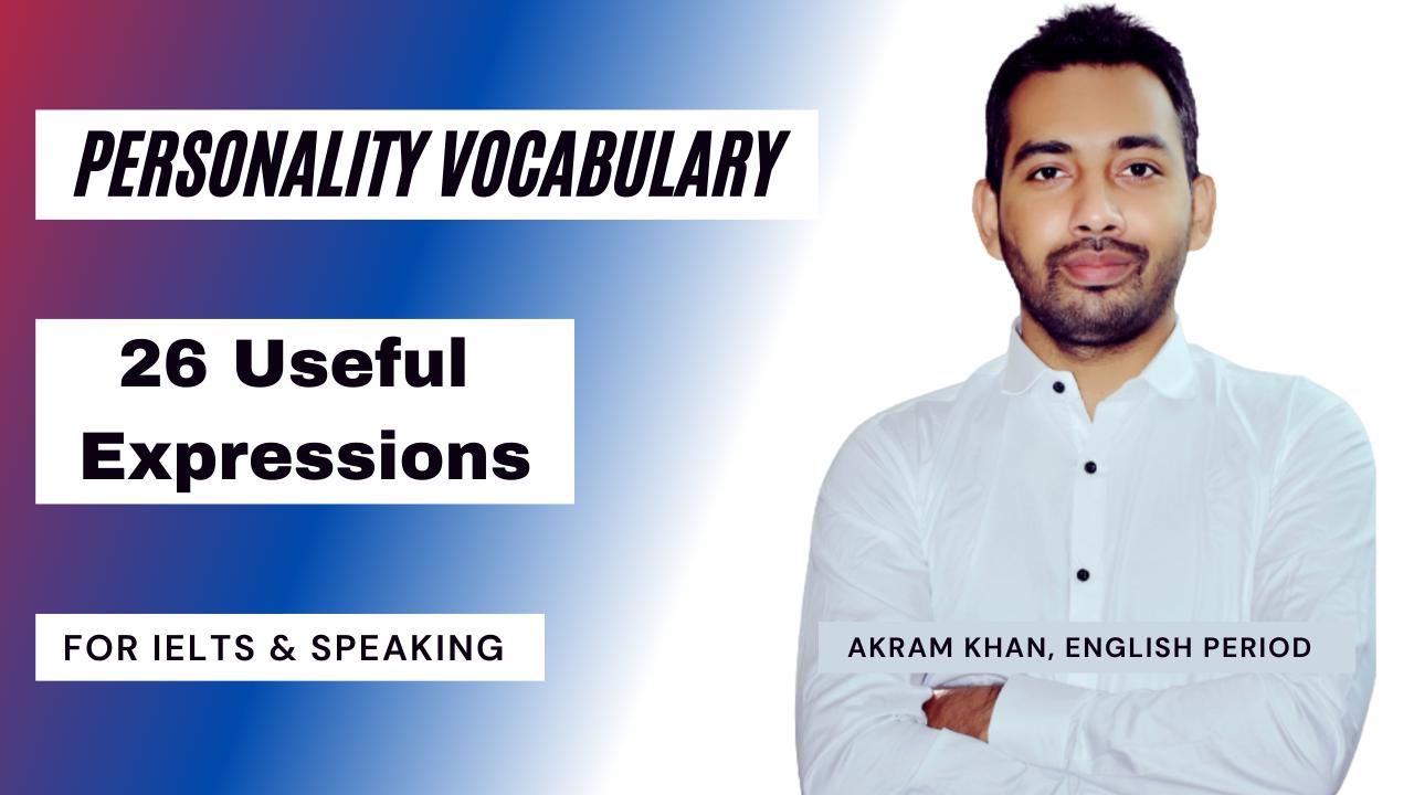 IELTS Vocabulary Personality
