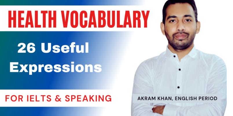 IELTS Vocabulary Health and Fitness