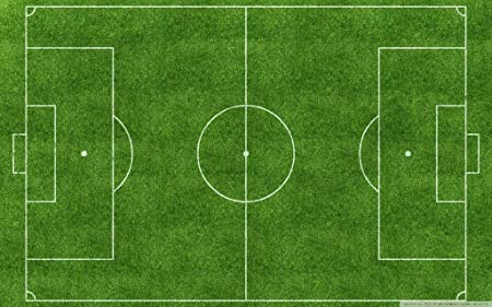 a football pitch image
