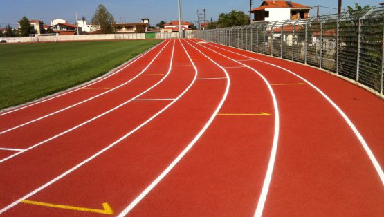 athletic track image
