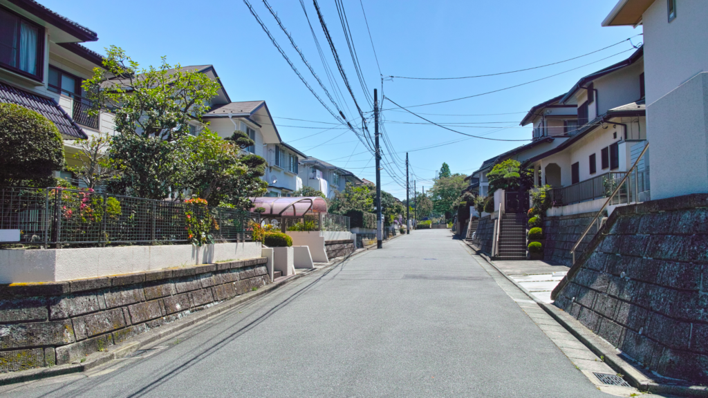 residential area image