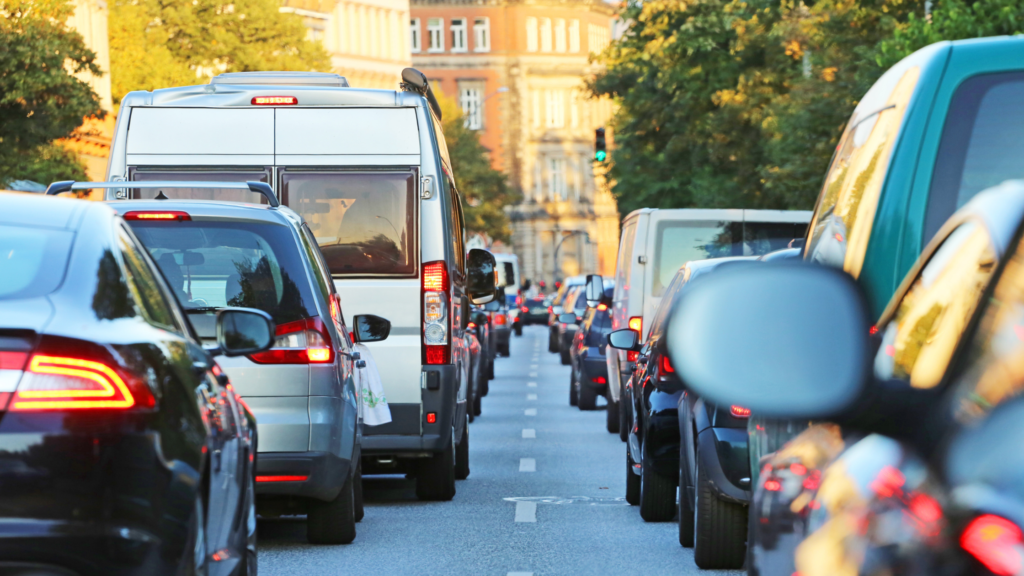 traffic congestion image