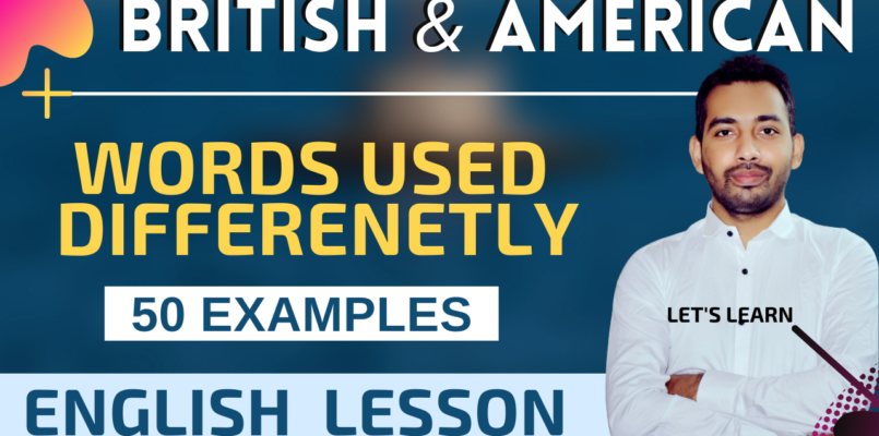 ritish and American engllish