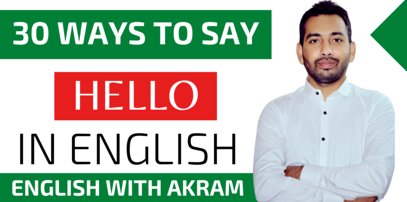 ways to say hello