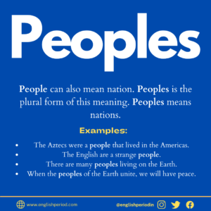 Meaning of peoples
