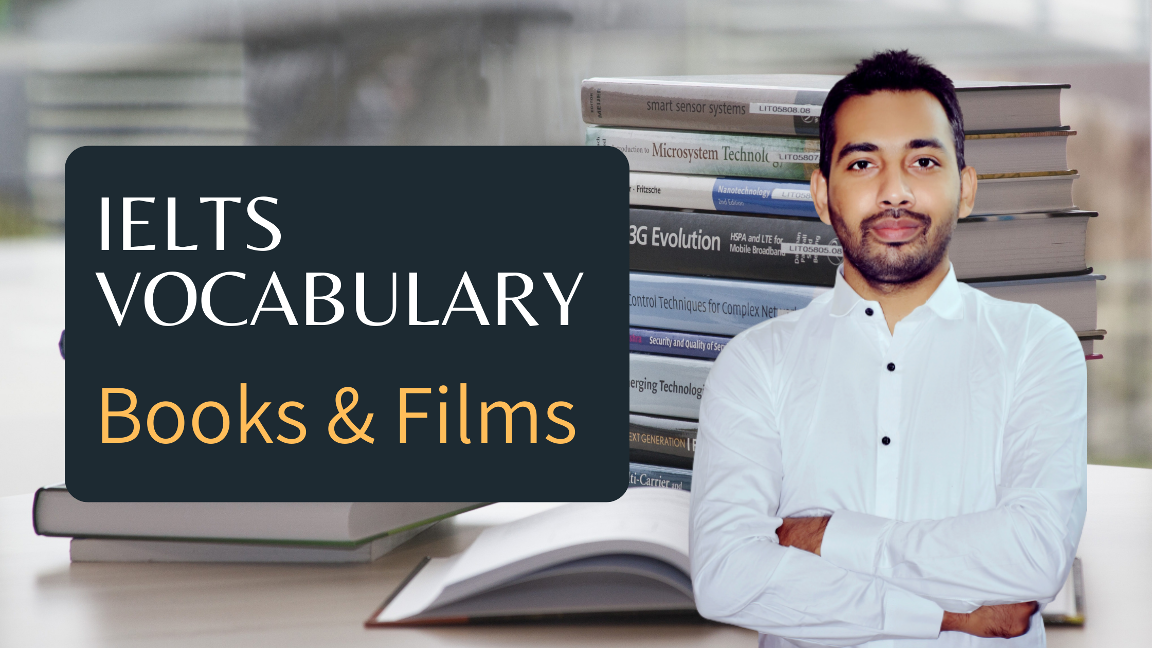 IELTS Vocabulary Books and Films - useful expressions for speaking