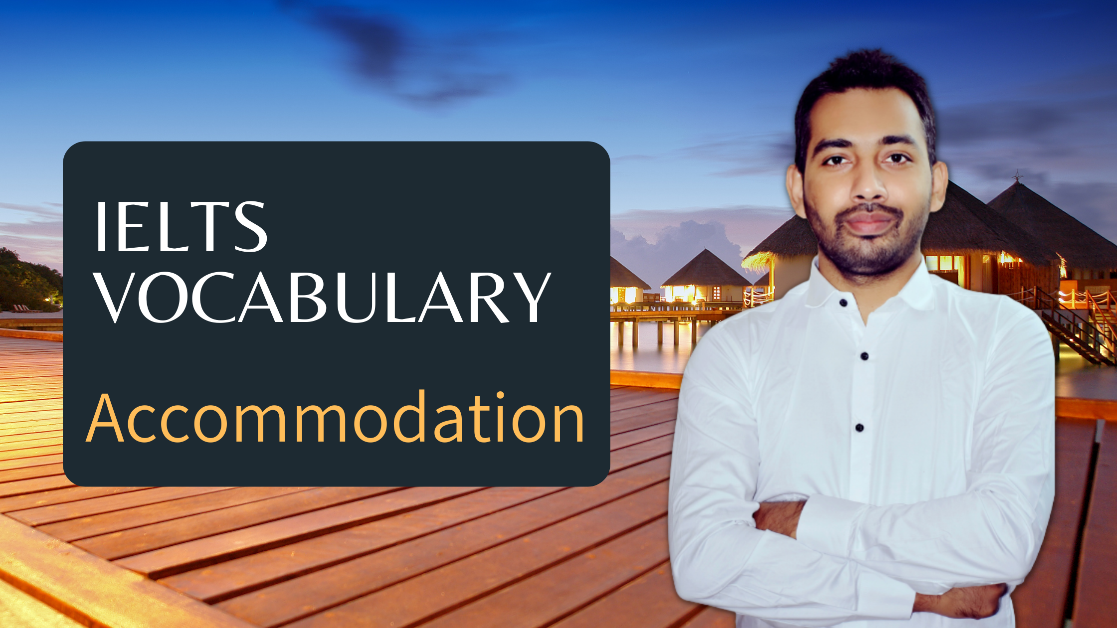 IELTS Vocabulary Accommodation - useful Expressions for Speaking