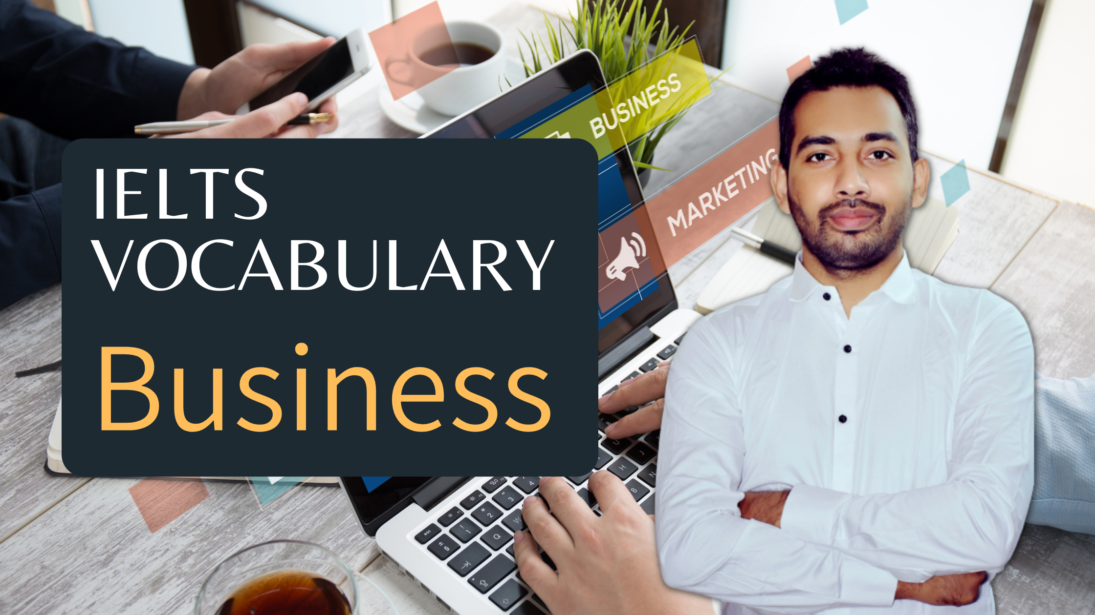 IELTS Vocabulary Business - useful expressions for speaking