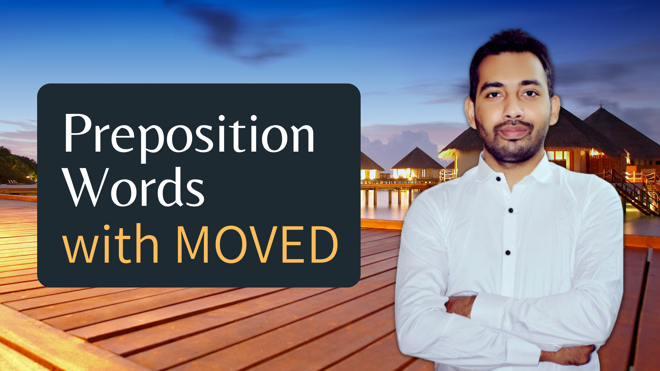 Preposition Words with Moved