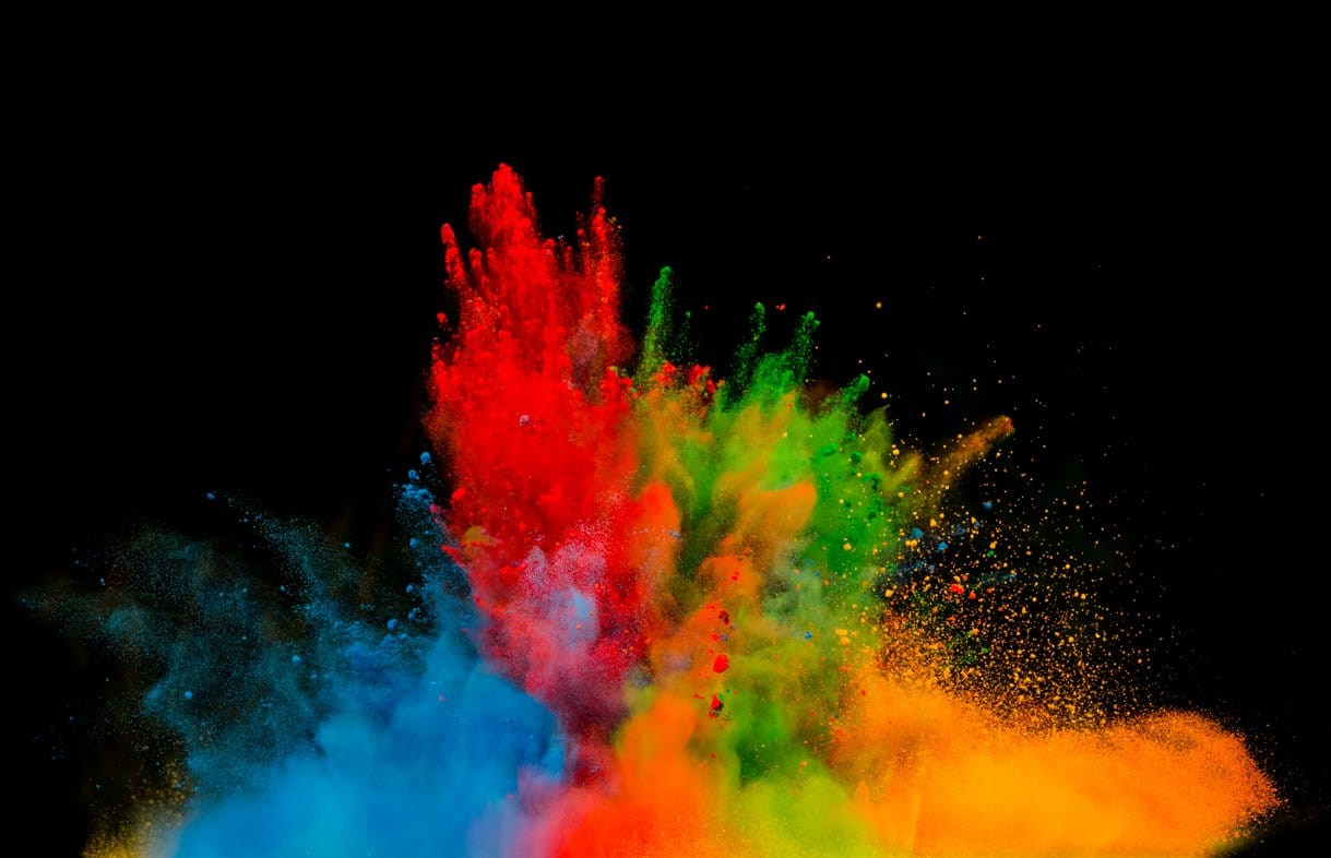 colours name in English